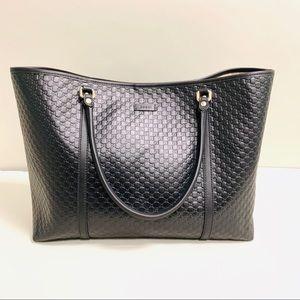 NWT Gucci Mini GG Guccissima Large Leather Tote